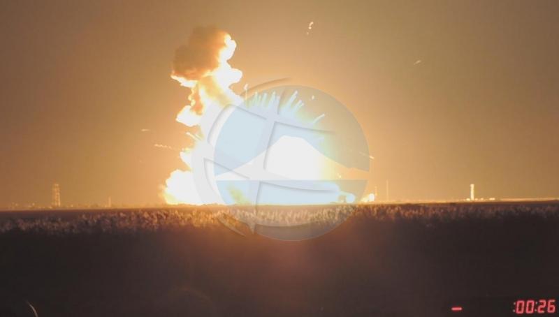 Aparato cu Edward Cheung a diseña, a bay perdi den explosion di cohete 'Antares'