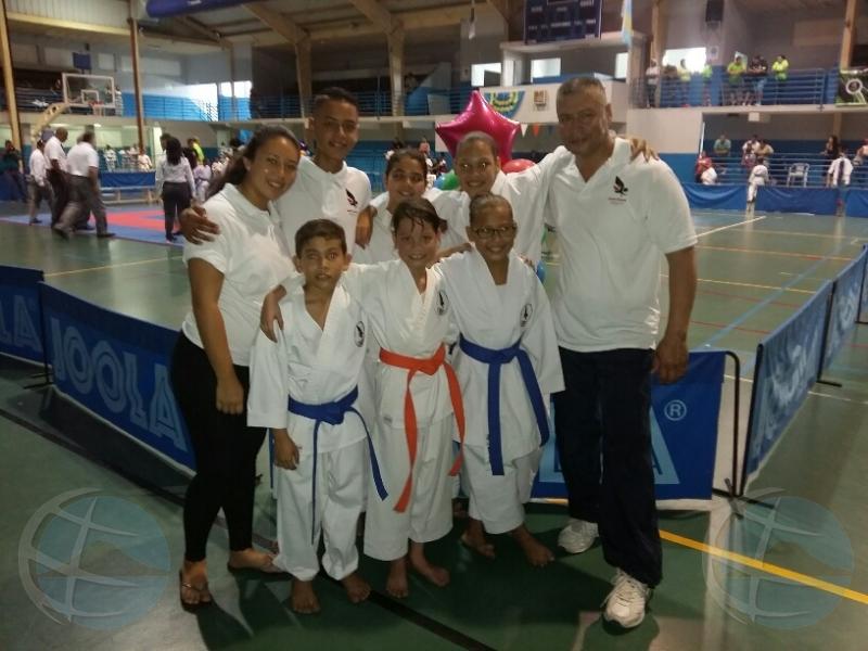Exitoso campeonato pa Dojo Shocokan Karate-Do Aruba
