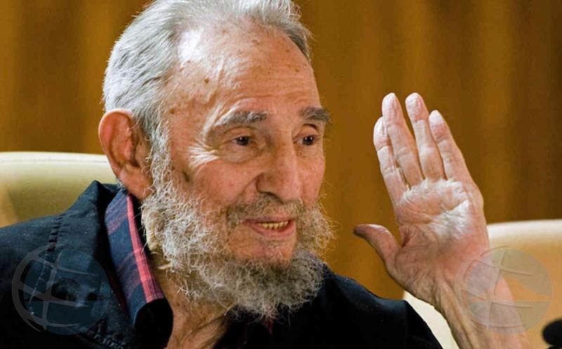 Ex presidente Cubano Fidel Castro a fayece