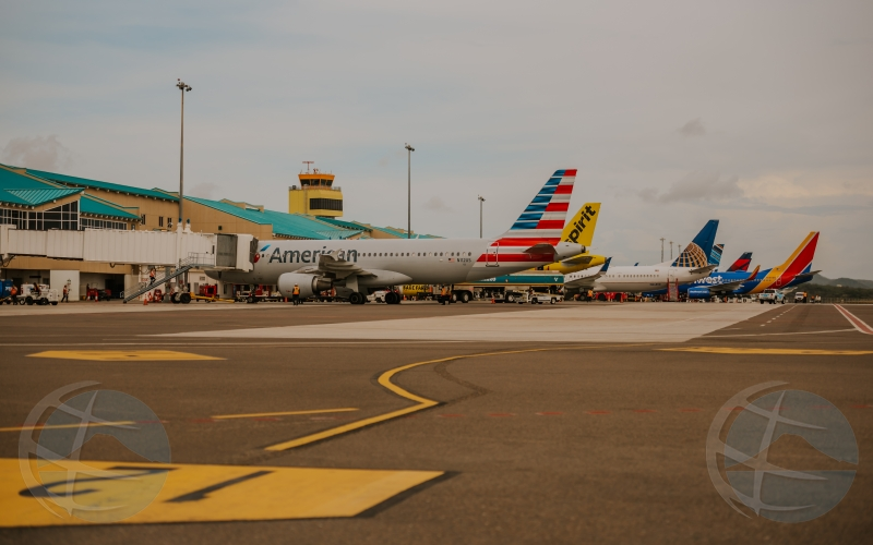 Aeropuerto a procesa mas cu 22.200 pasahero den weekend