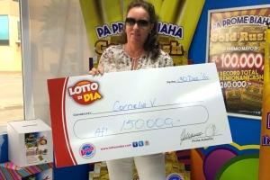 Lotto di Dia a entrega premio di 150.000 florin