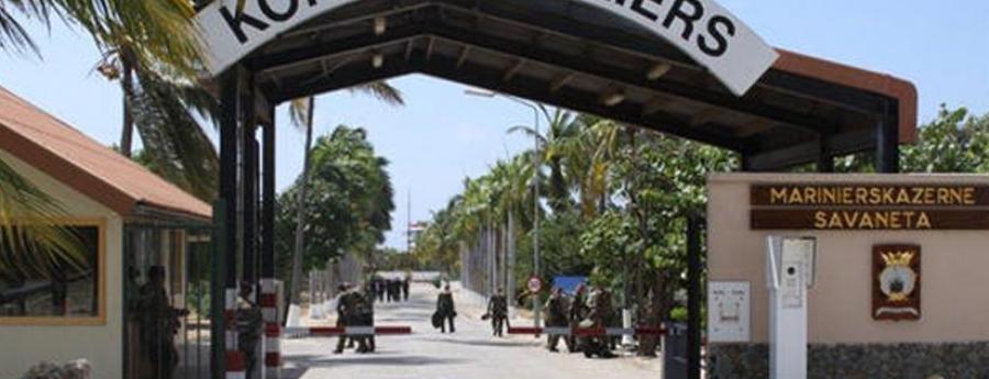 Paso tuma contra dos caso relaciona cu Marinierskazerne na Aruba