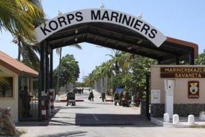 Maatregelen na twee incidenten marinierskazerne Aruba