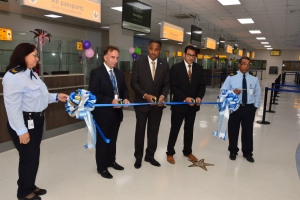 Aeropuerto a inaugura 'Airport Arrival Enhancement Project'