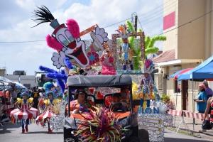 Bista fotografico parada di mucha di San Nicolas