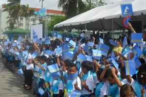Inscripcion Festival un Canto pa Aruba su Himno y Bandera