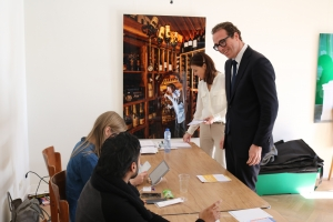 Minister Plenipotenciario Yrausquin a vota na Arubahuis