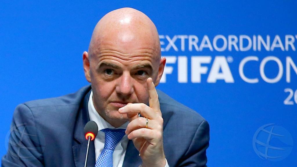 Presidente di FIFA ta bishita Aruba otro luna
