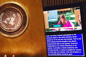 Minister Hooyboer na e di 61 sesion di 'Comission on the Status of Women' na U.N.