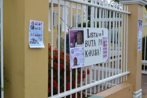 Tres partido cu suficiente voto den 'pre-eleccion' na Corsou
