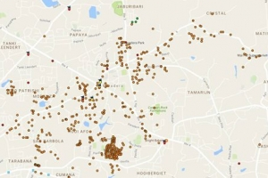 Problema di coriente na Paradera, Meiveld y vecindario