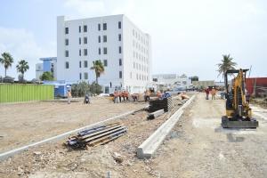 Ministernan a conoce edificio nobo di pashent na Dr. Horacio Oduber Hospital