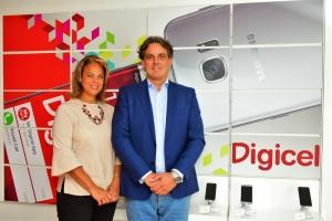 Wanda Broeksema ta General Manager nobo di Digicel Aruba