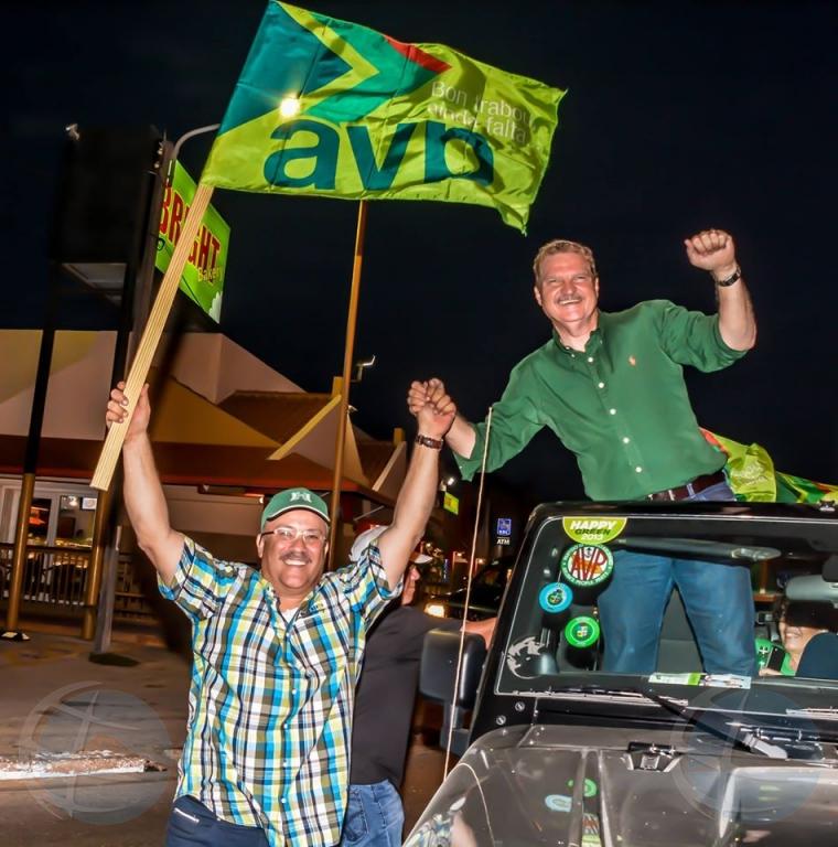 Politieke partijen met verkiezingscampagnes gestart