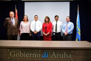 Gobierno a formalisa ley cu ta regula Arubalening