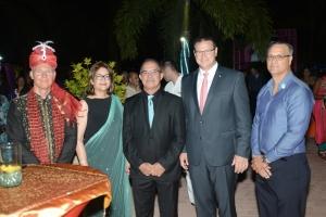 Cruz Cora Aruba a celebra nan fundraiser annual cu fiesta di Bollywood
