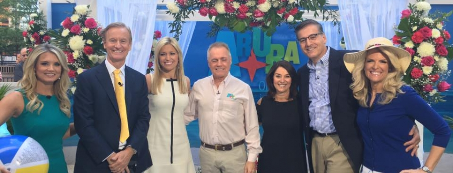 Evento grandi pa Aruba propaga riba 'Fox & Friends' riba Fox TV na New York