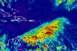 Meteo: Ola tropical caminda pa Aruba por genera mal tempo awenochi
