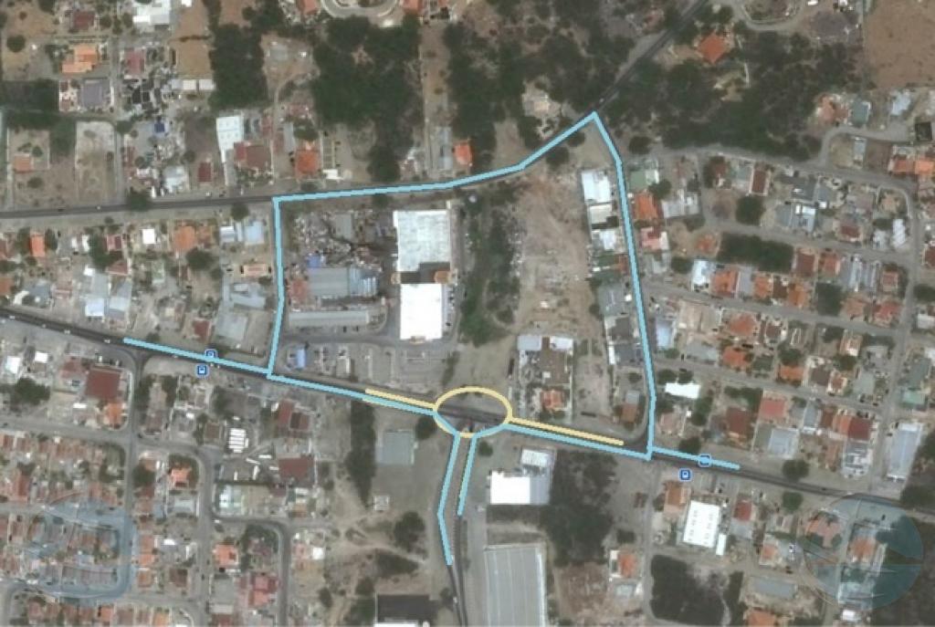 Ta cera caminda y desvia trafico na Cumana pa proyecto Watty Vos Boulevard