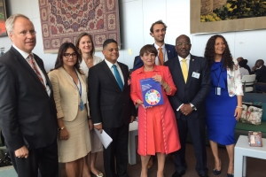 Prome Minister di Corsou na High Level Political Forum UN