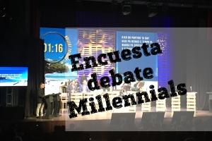 Falta apenas 1 dia pa encuesta debate di millennials cera