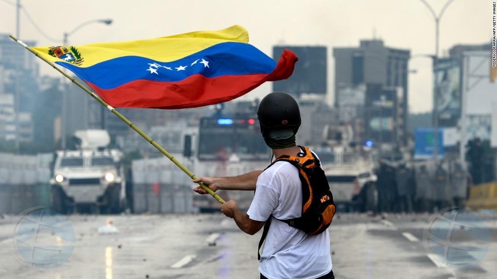 Merca a dal Venezuela cu sancion pa a sigui cu constituyente