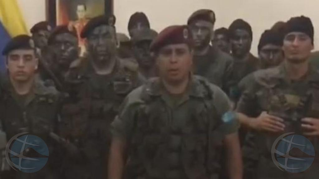 Intento di golpi di estado na Venezuela a keda frustra