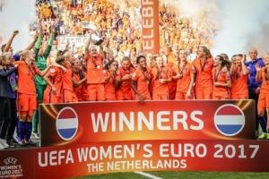 Hulanda ta gana Dinamarca 4-2 y gana Copa Europa Damas den futbol