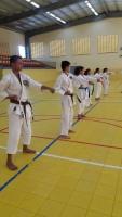 Seminario Explosion Karate di Karate Do Shotokai pa varios scol