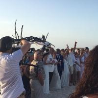 Mas di 150 pareha a renoba nan matrimonio riba Eagle Beach