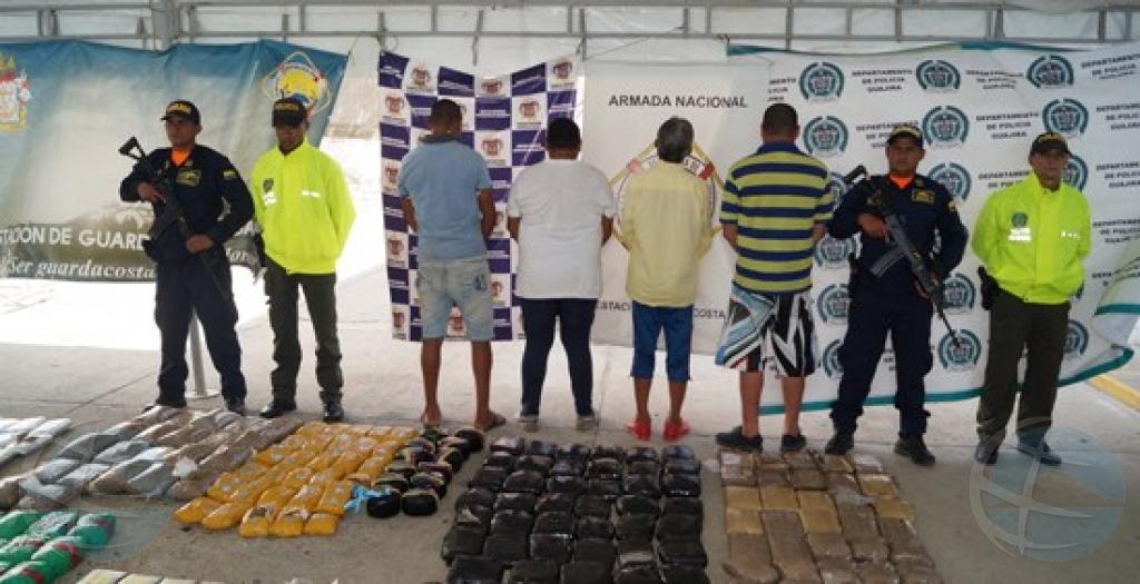 Wardacosta Colombiano a intercepta cargamento di droga pa Aruba