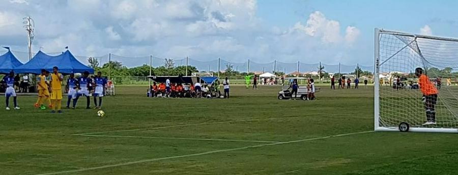 Aruba ta gana Bonaire den futbol Concacaf U-15 na Merca