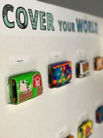 "EXPO Artistico  ""Cover your World"" awe tardi na Willem III Toren"