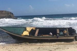 Warda Costa a gara 7 illegal Venezolano drentando Aruba