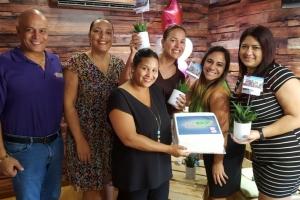 Aruba Bank a sorprende Prensa cu posibilidad di gana un biahe pa NYC