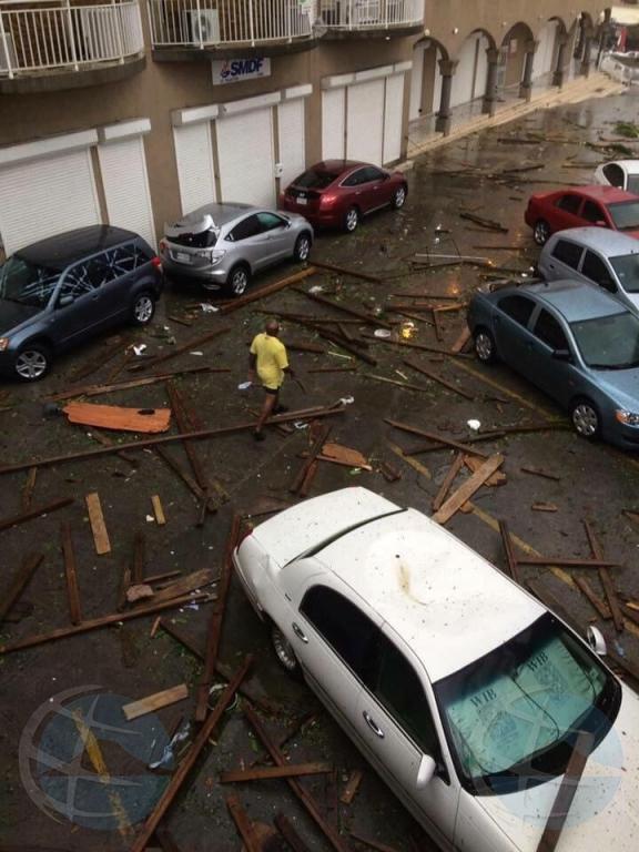 Gobierno Hulandes ta convivi cu esnan afecta pa Irma