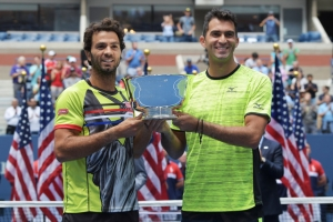 Jean-Julien Rojer y Horia Tecäu ta gana US Open tennis doubles 2017