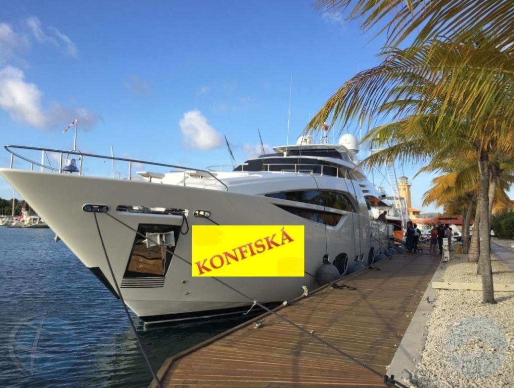 A confisca yate luhoso na Bonaire riba peticion di Merca