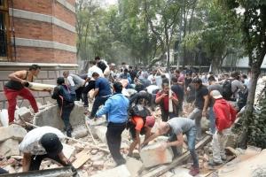 Temblor di magnitud 7.1 ta laga 44 persona morto na Mexico