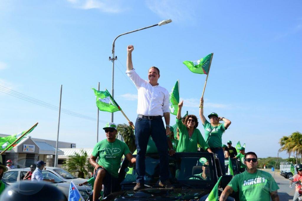 Partido AVP a keda esun mas grandi den eleccion 2017