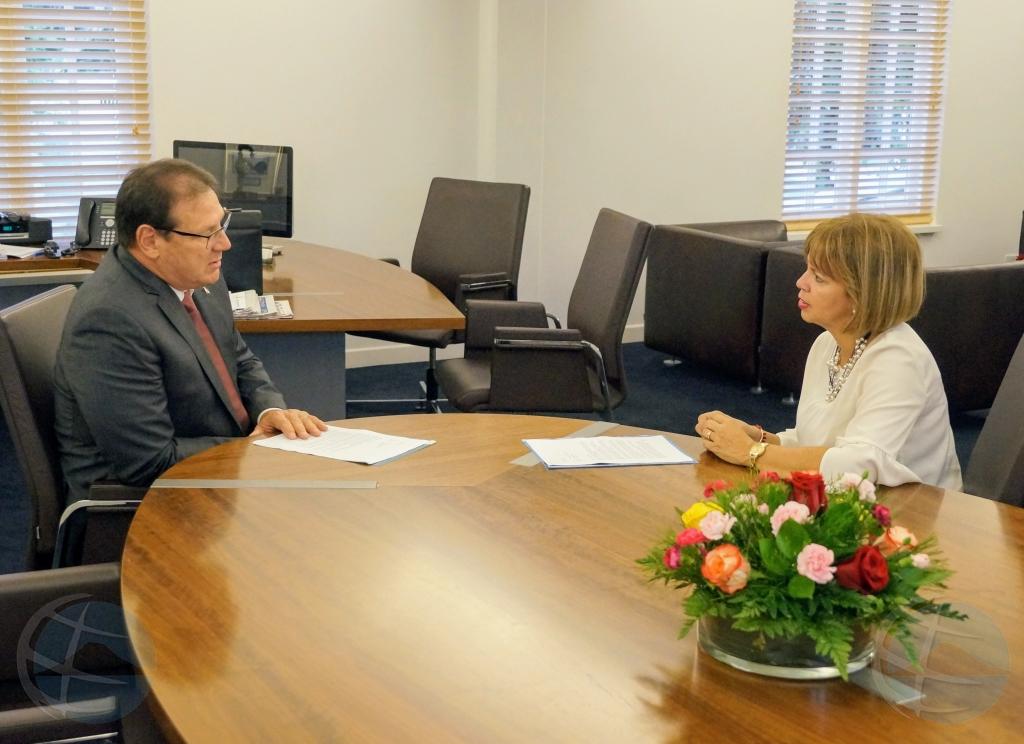 Gobernador a nombra Evelyn Wever Croes como formador
