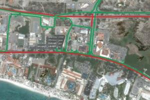 Ruta alternativo pa trafico diadomingo debi na Challenge Aruba Endurance Festival!