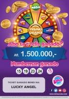 Lotto ta buscando e miyonario di 1.500.000 florin