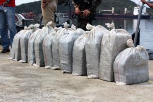 Bapor Hulandes Zeeland ta intercepta y para transporte di droga