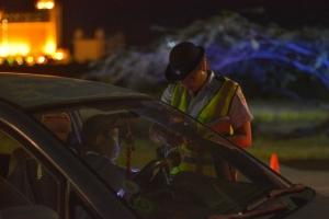 Control di trafico den weekend a produci detencion y multa
