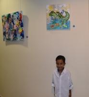 KVK a tene apertura oficial di exposicion di arte
