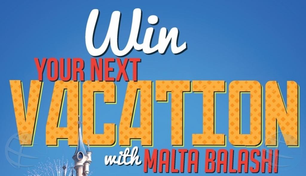 Gana bo vakantie cu Malta Balashi