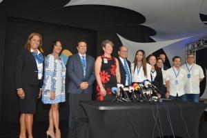 Aruba Airlines a efectua buelo 'inaugural' pa Corsou oficialmente