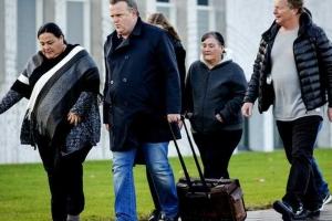 Family of slain Aruban Mitch Henriquez leave court as sign of protest
