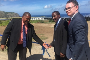STUCO Solar Park on the island of Statia officially opened